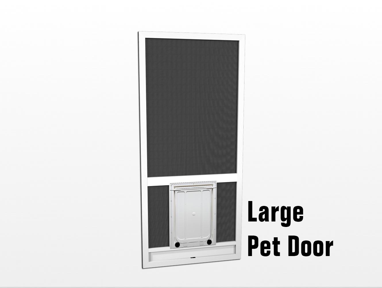Pet Doors Screen Door With Pet Door Dog Screen Doors Pca Products