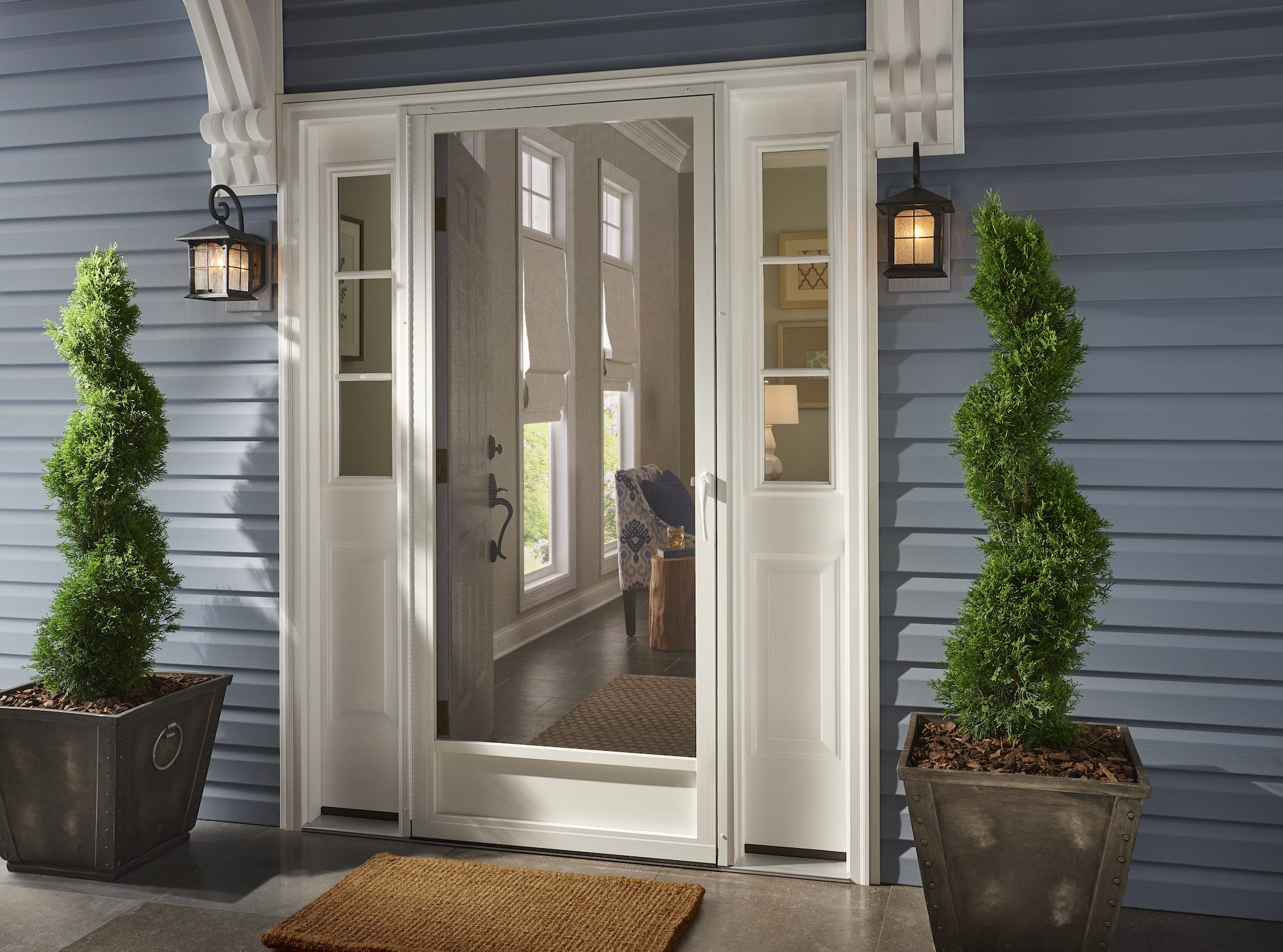Entry Screen Doors Aluminum Screen Doors Custom Pca