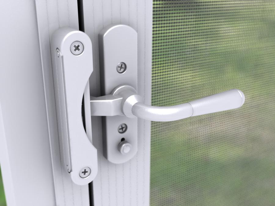 Door Lever Handles for In-Swing Screen Doors - Lever… | PCA