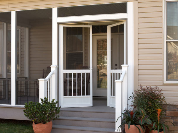 Out-swing & In-swing Aluminum Screen Doors