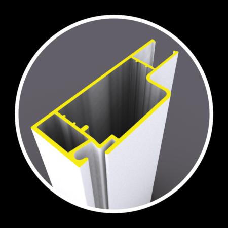 Heavy Dual Wall Aluminum Frame