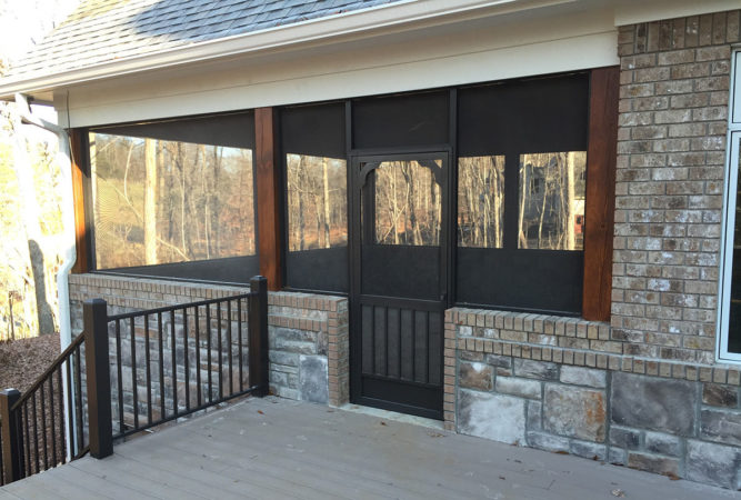 Porch & Patio Screen Door Solutions