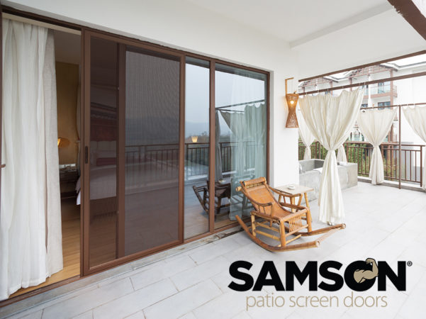 Samson patio screen doors are the strongest, most durable screen doors on the market today