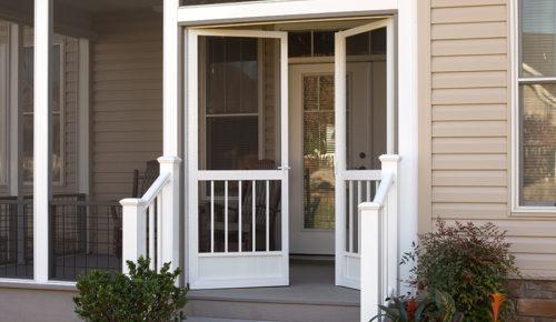 aluminum screen doors best screen doors front pca products rh pcaproducts com