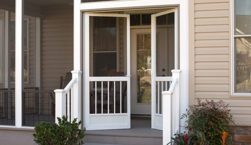 Aluminum Screen Doors Best Screen Doors Front Pca Products