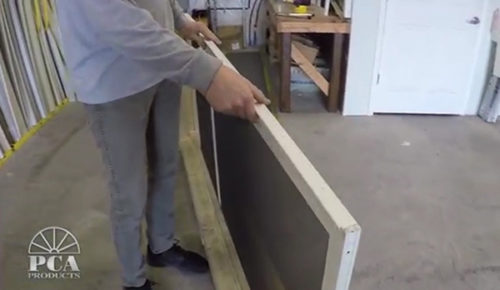 Pianohingeinstall Video