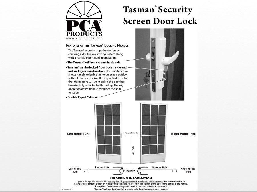 Tasman Ordering 0917 Lg