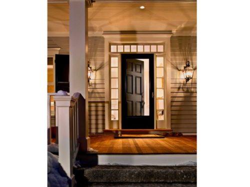 Black Door Exterior