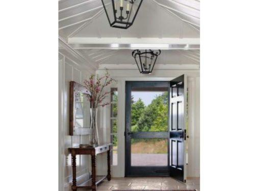 Black Door Interior