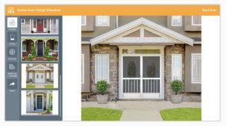 Screen Door Design Visualizer