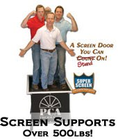 heavy duty screen doors best Fort Dodge IA,