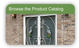 Custom Designer Screen Door