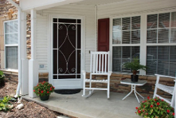 custom aluminum screen doors
