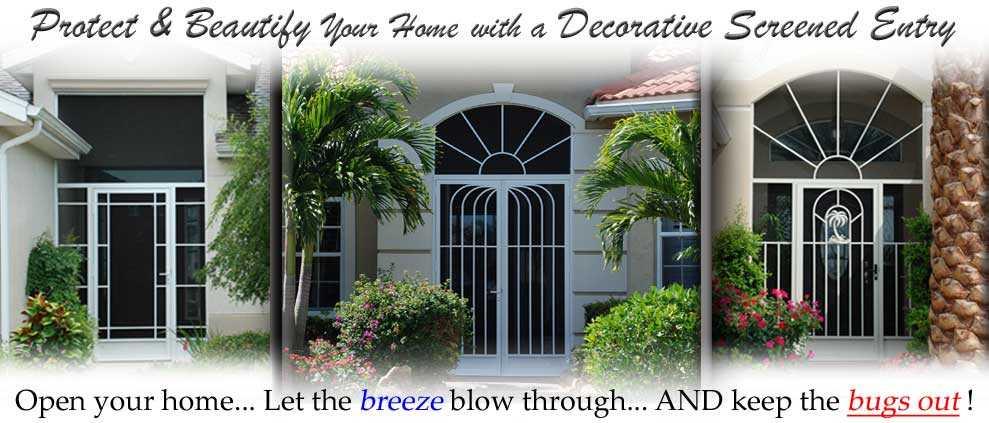 Front Entry Doors Gainesville Fl Screen Doors Decorative