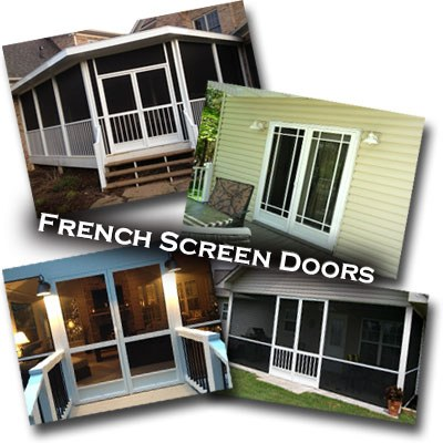 french screen doors Cherokee NC