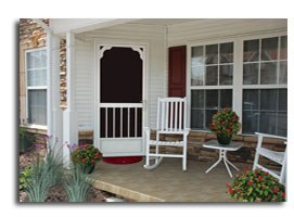 front screen doors designs ideas  Cherokee NC