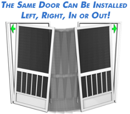 stocking prehinged aluminum screen doors is tough on supply companies when budgeting inventory with prehinged doors a company has to stock a certain