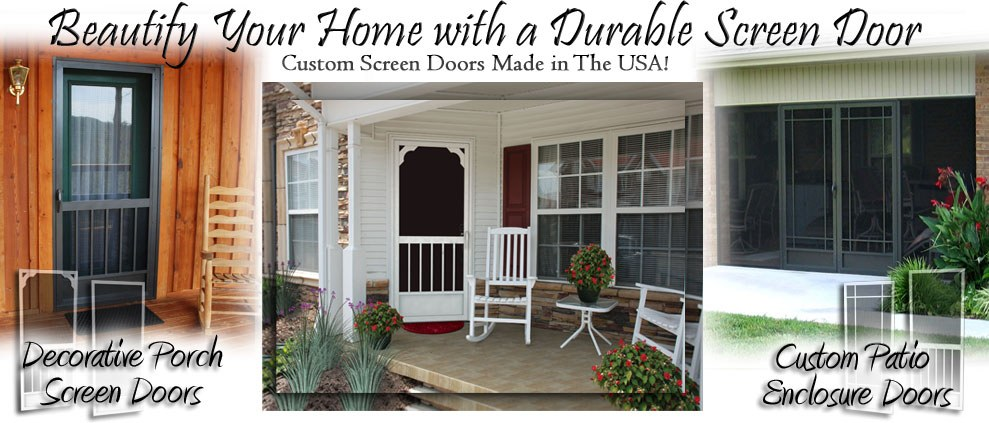 screen doors Metairie LA Kenner LA Gretna storm doors