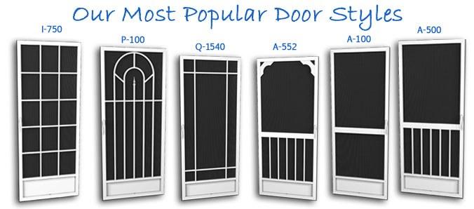 Delightful Screen Door Designs 2