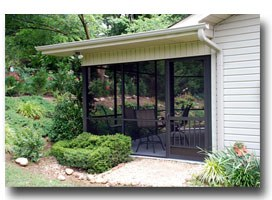 screen porch screen doors Lake Lure NC