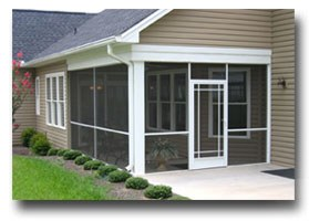 screened patio screen doors Evansville IN