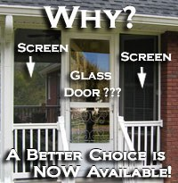 storm doors vs screen doors