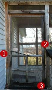 wood screen doors problems
