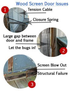 porch and patio screen doors